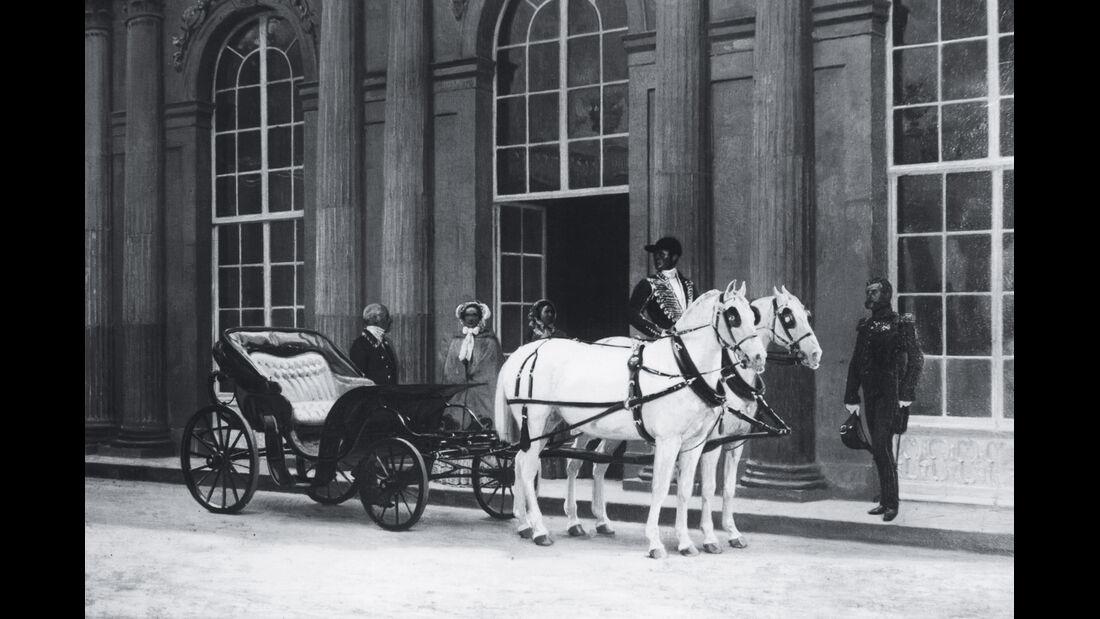 Kutsche, Sanssouci