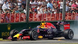 Kvyat - Red Bull - GP Australien 2015
