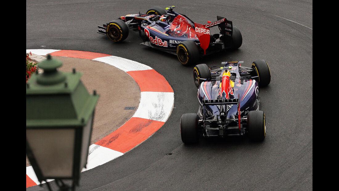 Kvyat & Ricciardo - Formel 1 - GP Monaco - 22. Mai 2014