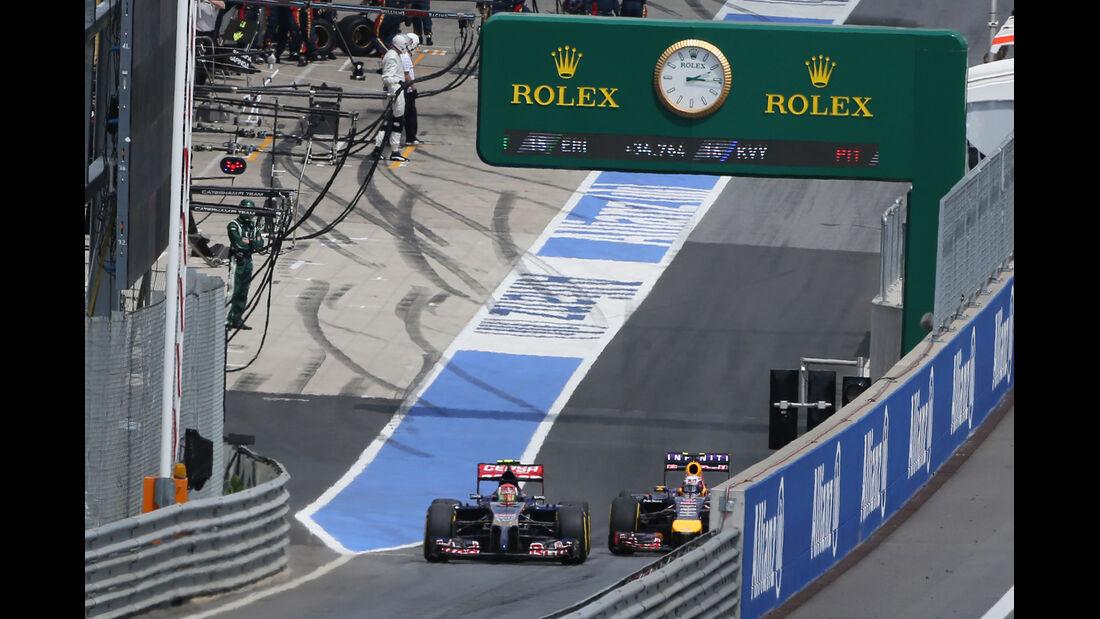 Kvyat & Ricciardo - GP Österreich 2014
