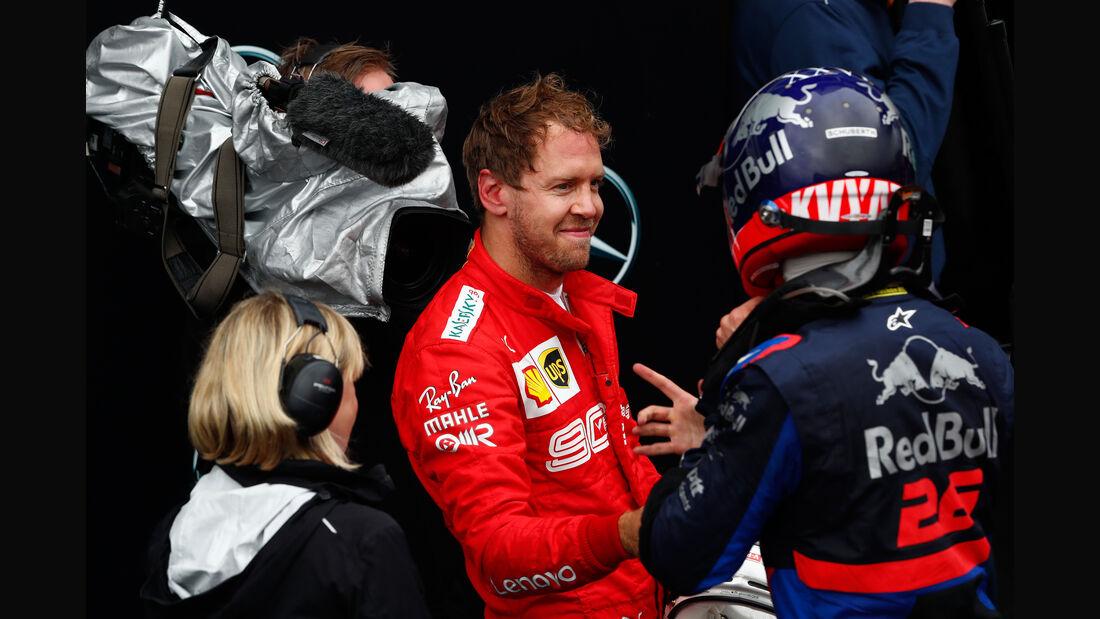 Kvyat - Vettel - GP Deutschland 2019 - Hockenheim - Rennen