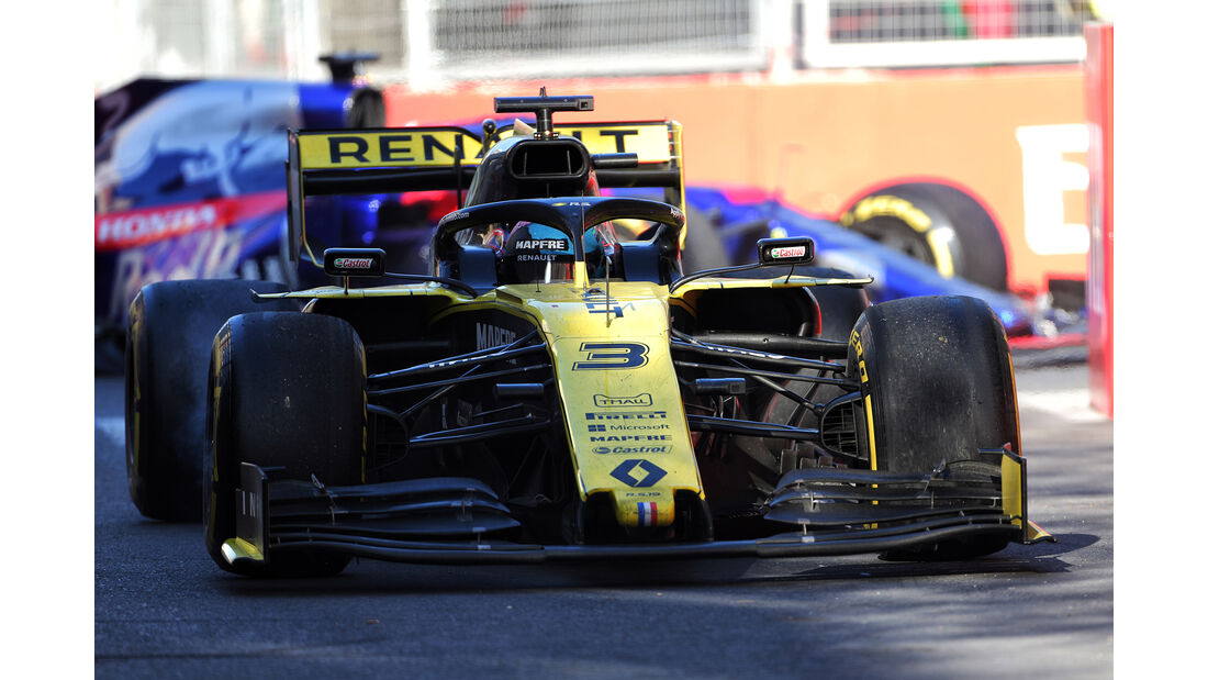 Kvyat vs. Ricciardo - Formel 1 - GP Aserbaidschan 2019