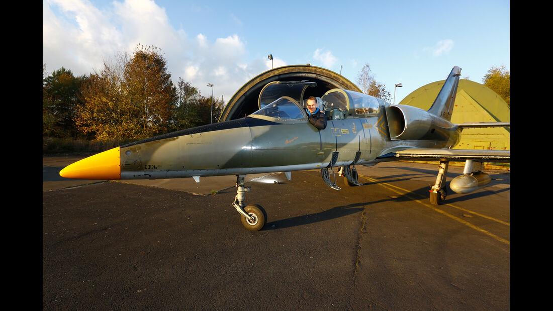 L-39 Albatros, Seitenansicht