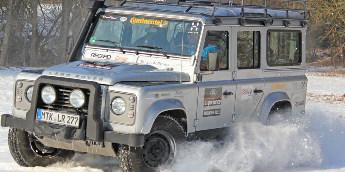 LAND ROVER DEFENDER Bolivia 2012