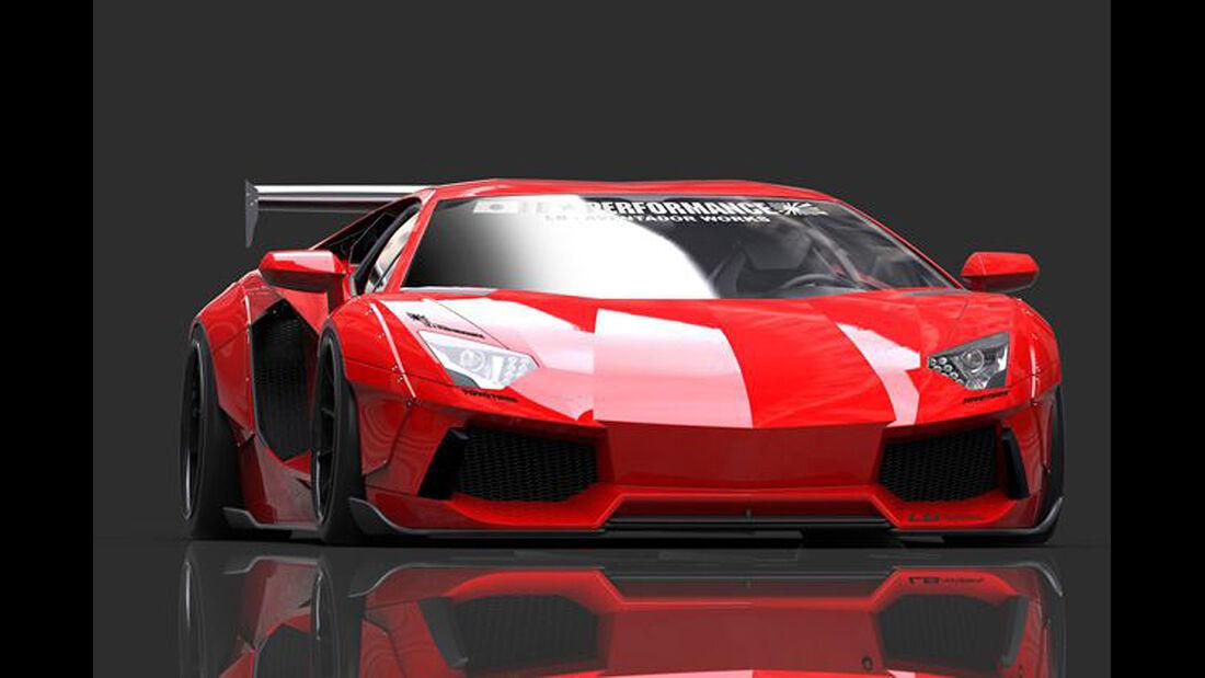 LB Performance, Lamborghini Aventador, Tuning