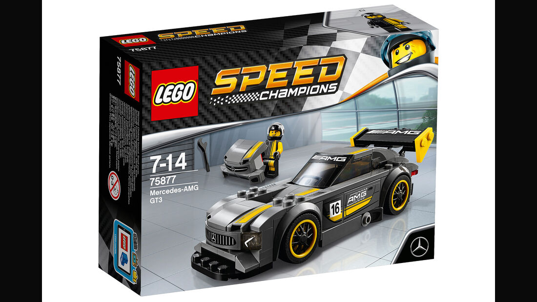 LEGO Speed Champions: Mercedes-AMG GT3