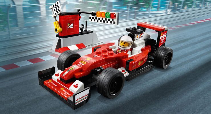 adventskalender 2017 lego scuderia ferrari sf16 h auto. Black Bedroom Furniture Sets. Home Design Ideas