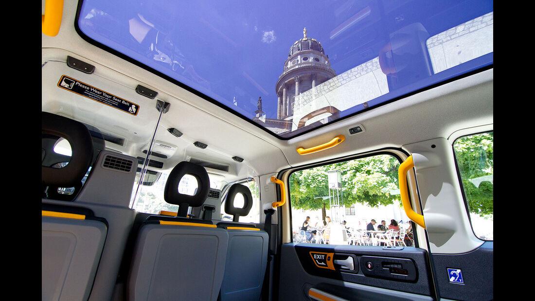 LEVC TX eCity London Taxi Electric Black Cab