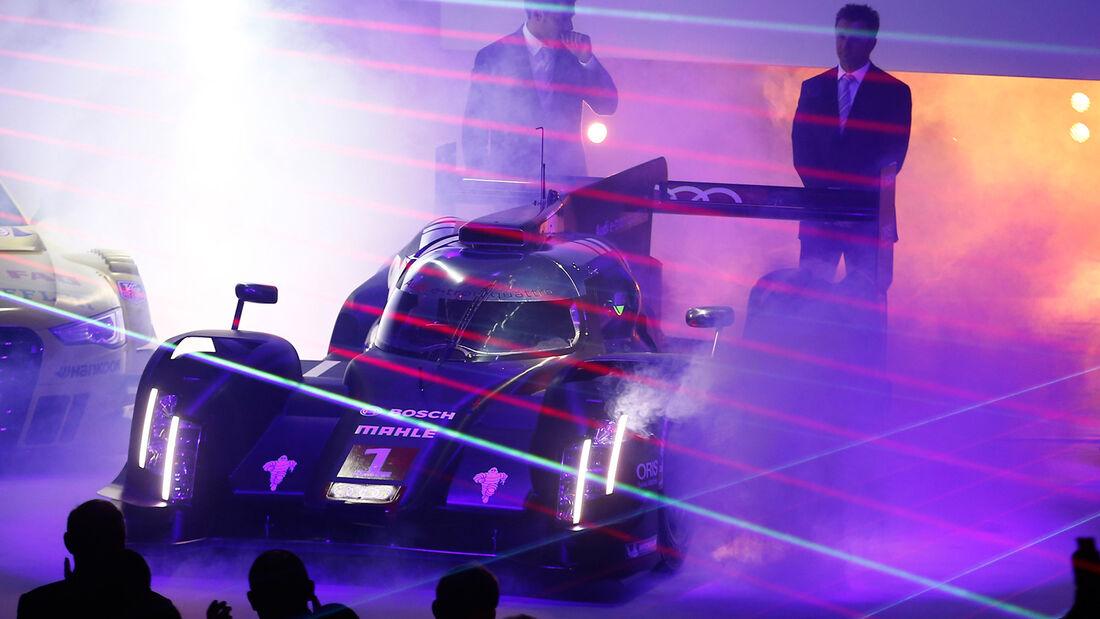 LMP1- Audi R18 e-tron Quattro, Präsentation