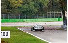 LMP1-Porsche 919 Hybrid, Heckansicht, Monza