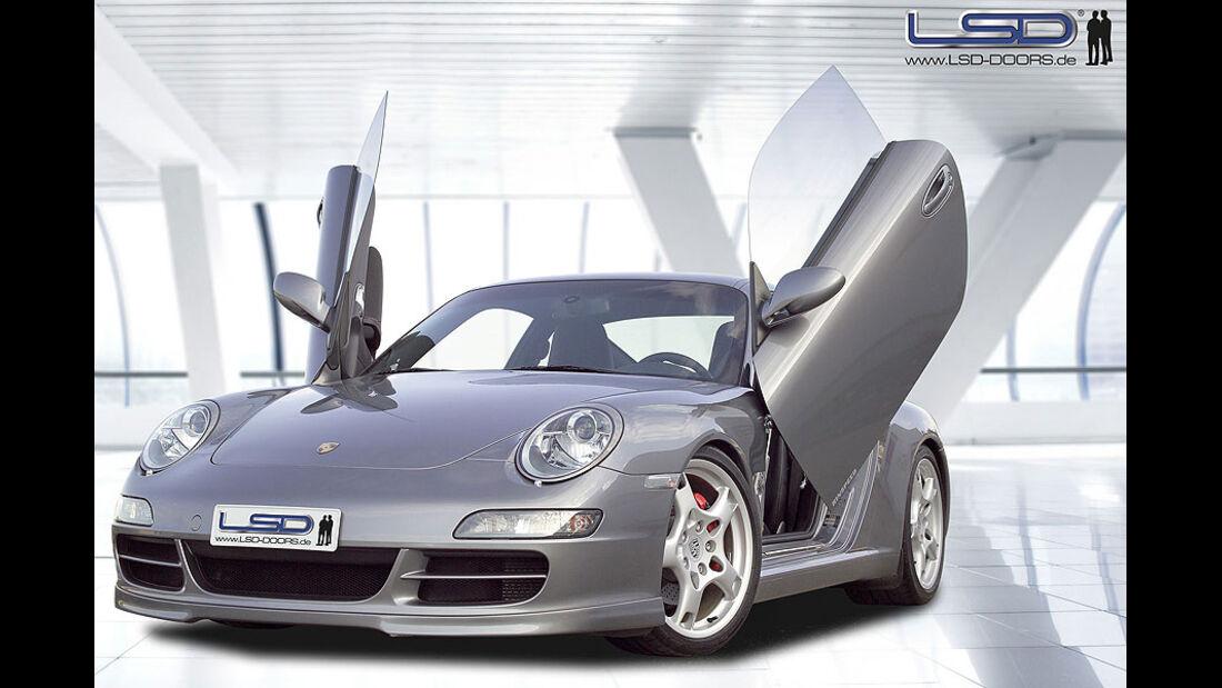 LSD, Flügeltüren Porsche 911 997