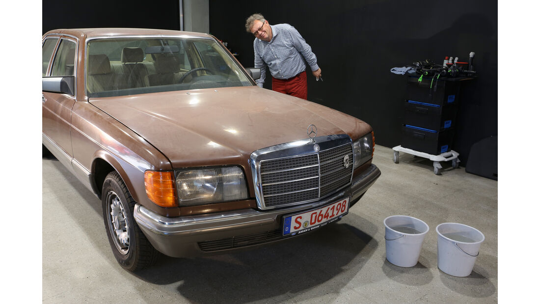 Lackaufbereitung, Mercedes 280 SE