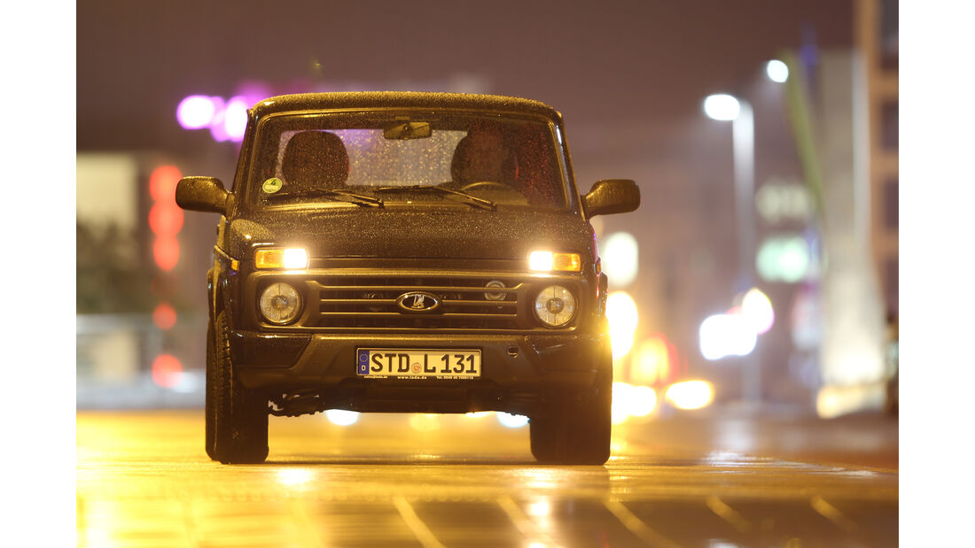 Lada 4x4 Urban, Frontansicht