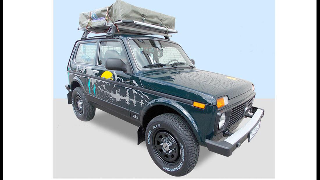 Lada Niva 4x4 Sondermodell Pur