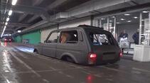Lada Niva tiefergelegt Iling Show Russland