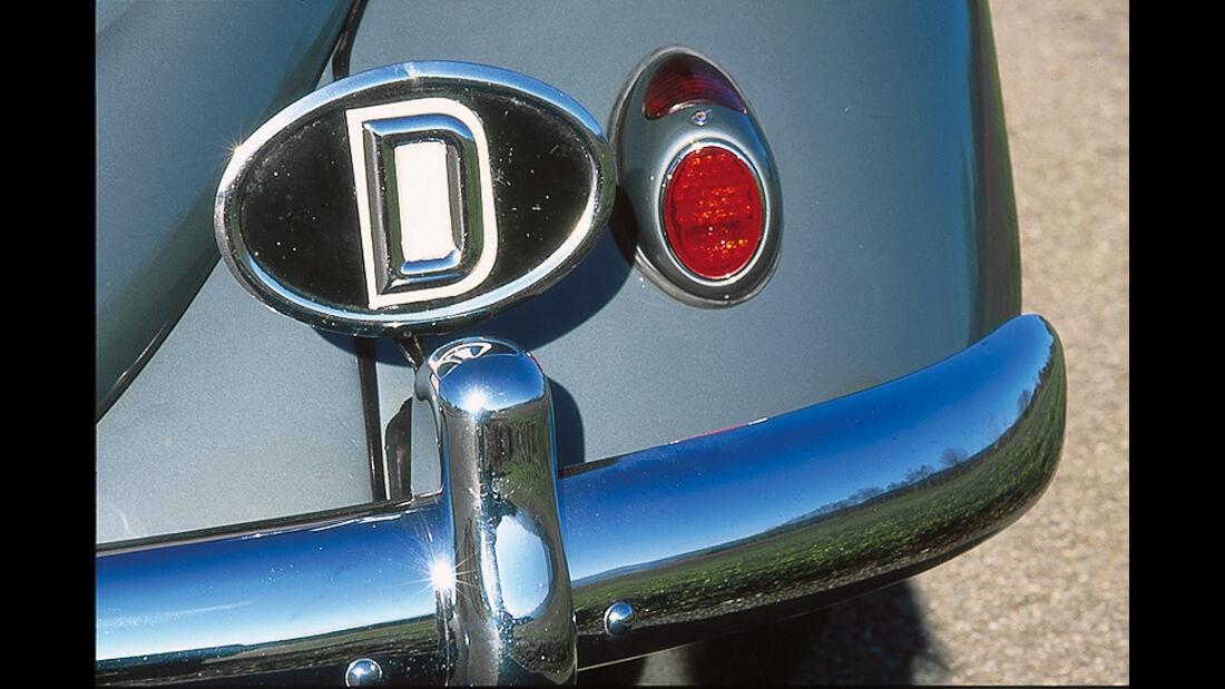 Länderkennzeichen D, VW Käfer
