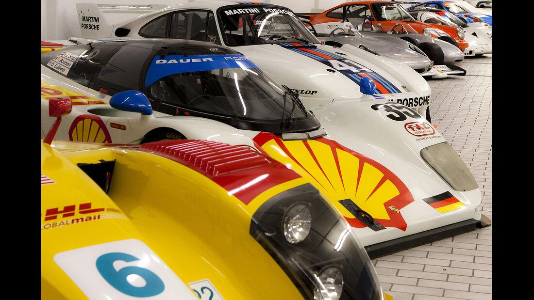 Lagerhallen Porsche Museum