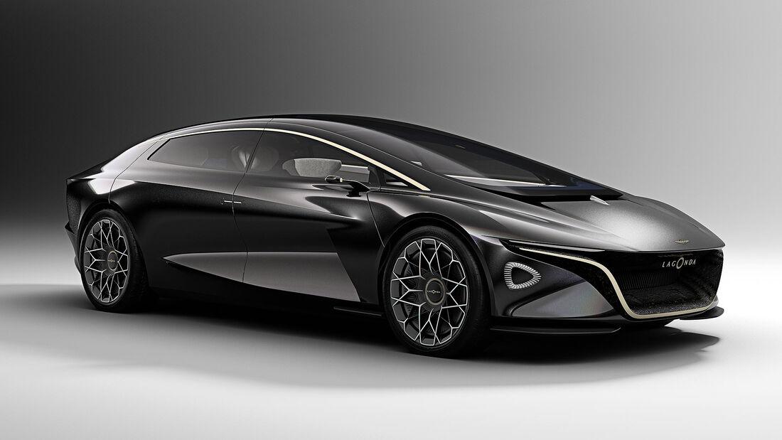 Lagonda Vision Concept Ausblick Auf Den Elektro Aston Martin Auto Motor Und Sport