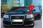 Lahm, FC Bayern München, Fußballer und Autos, Audi A6