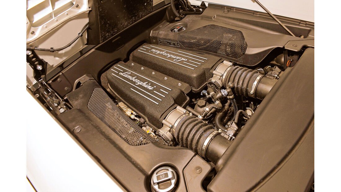 Lamboghini Gallardo LP 550-2, Motor