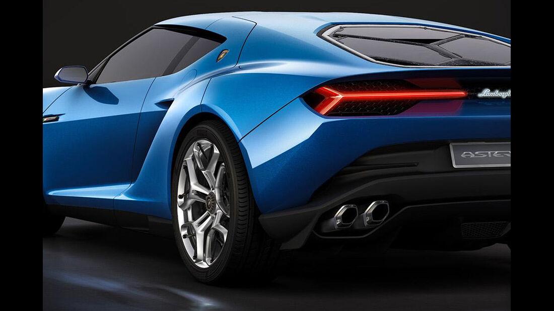 Lamborghini Asterión, Hybridsportwagen, Autosalon Paris 2014