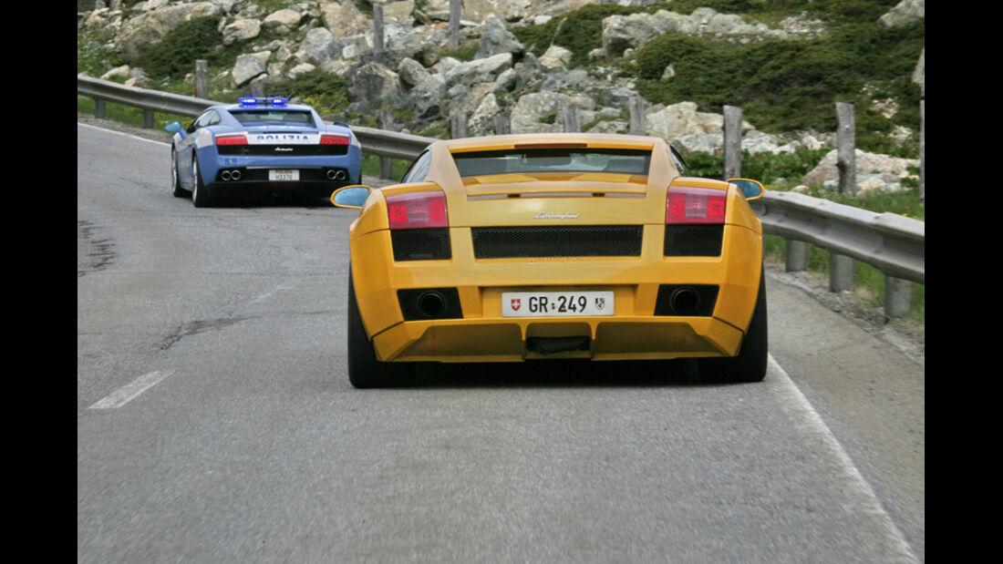 Lamborghini Ausfahrt