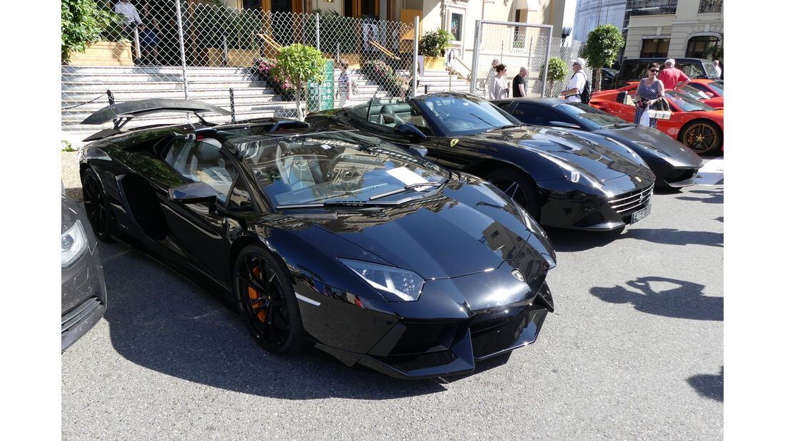 Lamborghini Aventador - Carspotting - GP Monaco 2016