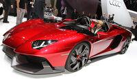 Lamborghini Aventador J, Autosalon Genf 2012, Messe, Sportwagen