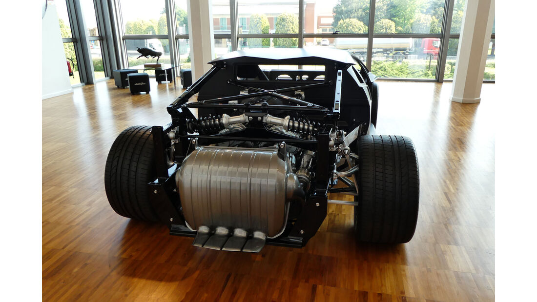 Lamborghini Aventador LP 700-4 Chassis - Lamborghini Museum - Sant'Agata Bolognese