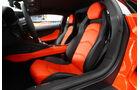 Lamborghini Aventador LP 700-4, Fahrersitz