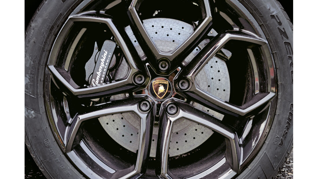 Lamborghini Aventador LP 700-4, Felge, Rad
