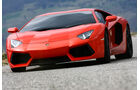 Lamborghini Aventador LP 700-4, Frontansicht, Bildf¸llend
