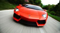 Lamborghini Aventador LP 700-4, Frontansicht, ‹berland
