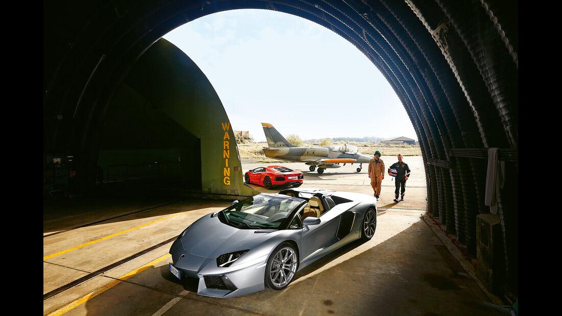 Lamborghini Aventador LP 700-4, L-39 Albatros, Tower