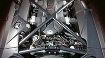 Lamborghini Aventador LP 700-4, Motor, Motorraum, 700-PS-V12