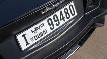 Lamborghini Aventador LP 700-4, Nummerschild