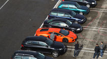 Lamborghini Aventador LP 700-4, Parkplatz