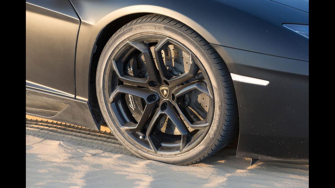 Lamborghini Aventador LP 700-4, Rad, Felge