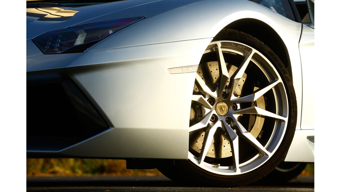 Lamborghini Aventador LP 700-4, Rad, Felge, Bremse
