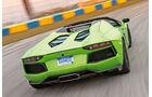Lamborghini Aventador LP 700-4 Roadster, Heckansicht