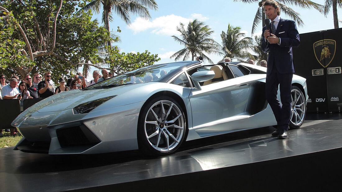 Lamborghini Aventador LP 700-4 Roadster Stephan Winkelmann