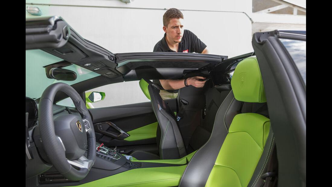 Lamborghini Aventador LP 700-4 Roadster, Verdeck, Jens Dralle