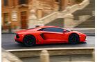 Lamborghini Aventador LP 700-4, Seitenansicht, Stadt, Rom