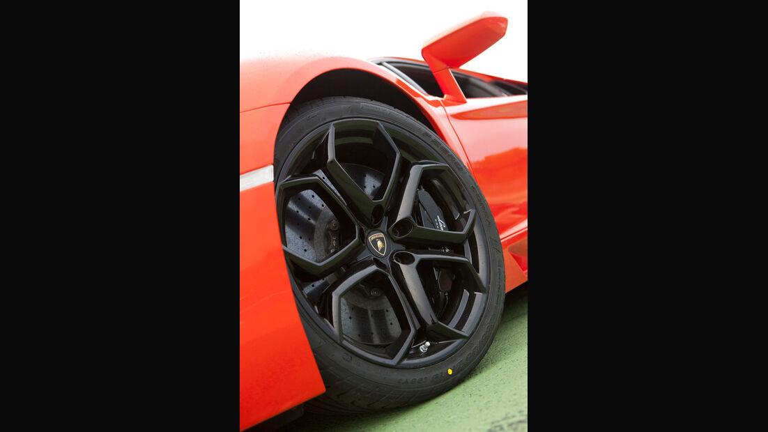 Lamborghini Aventador LP 700-4, Vorderrad, Felge