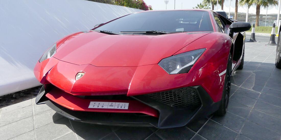 Lamborghini Aventador LP 750-4 SV - Carspotting - GP Abu Dhabi 2016