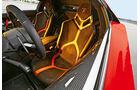 Lamborghini Aventador LP 750-4 Superveloce, Fahrersitz