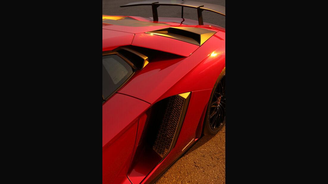 Lamborghini Aventador LP 750-4 Superveloce, Lufteinzug