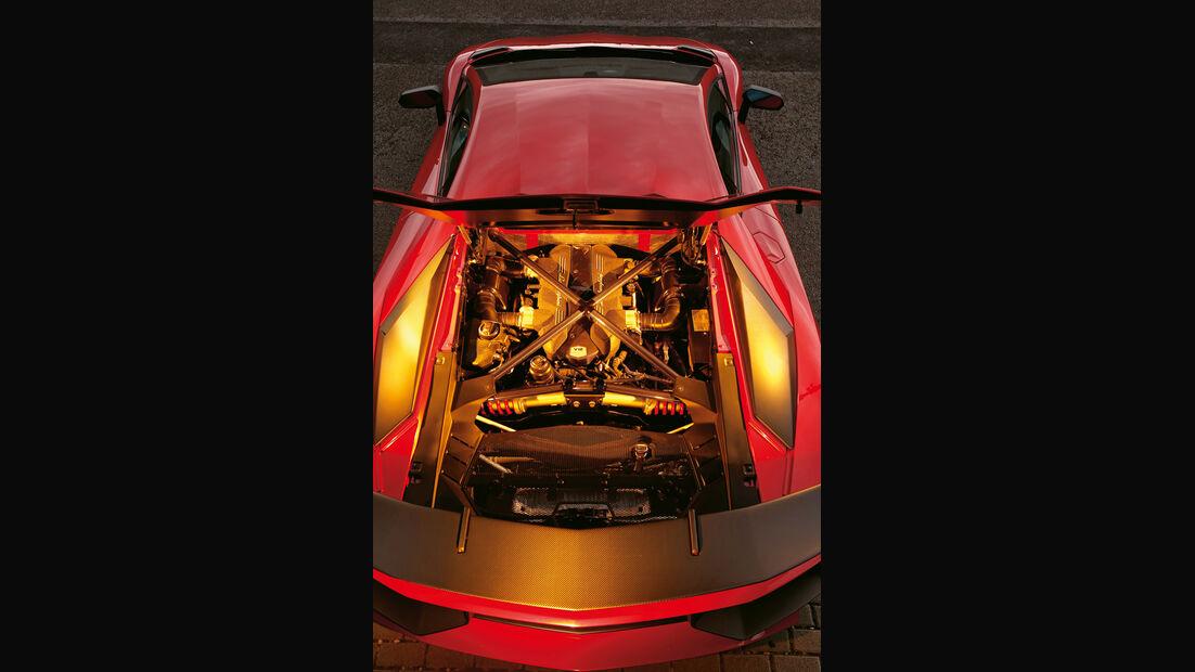 Lamborghini Aventador LP 750-4 Superveloce, Motor