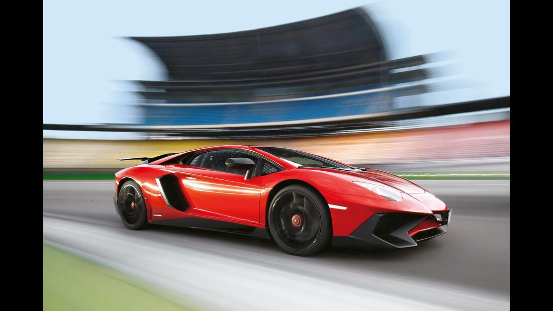 Lamborghini Aventador LP 750-4 Superveloce, Seitenansicht