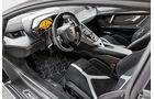 Lamborghini Aventador LP750  SV, Cockpit